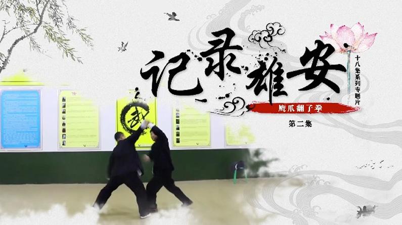 《记录雄安》第二集:鹰爪翻子拳