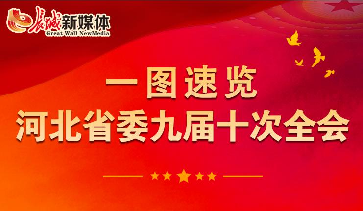 【一圖速覽】河北省委九屆十次全會