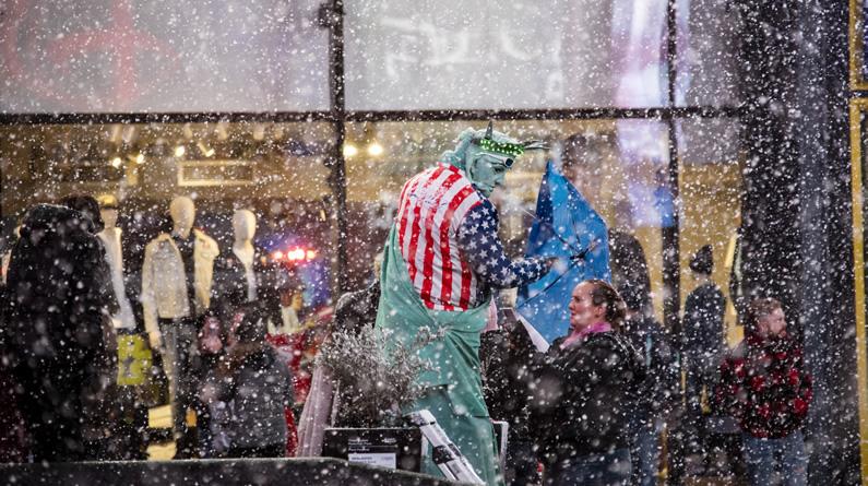 紐約遭遇暴風雪