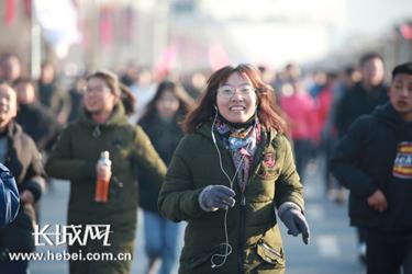 廊坊:萬人長跑點燃城市冬日運動激情