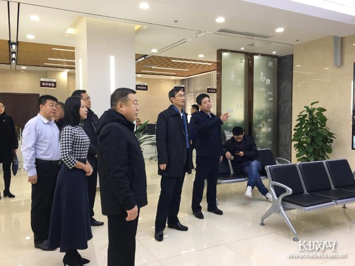 河北省市場監管局局長金洪鈞到衡水市調研