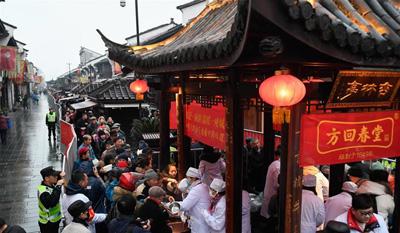 杭州:臘八粥飄香