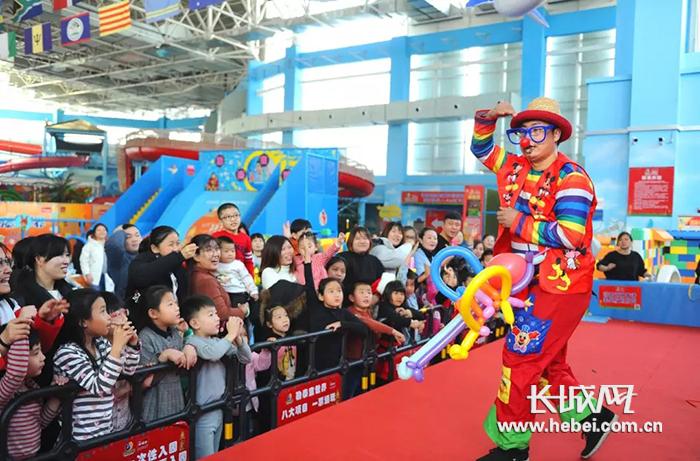 唐山路北区第二届国际小丑节在勒泰童世界开幕
