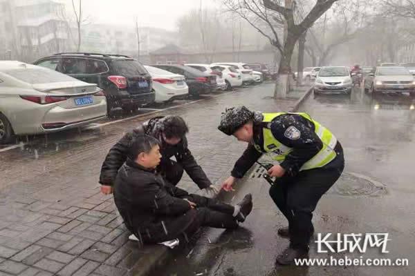 河北交警启动恶劣天气怎样才能赚钱快应急预案 力保群众出行安全