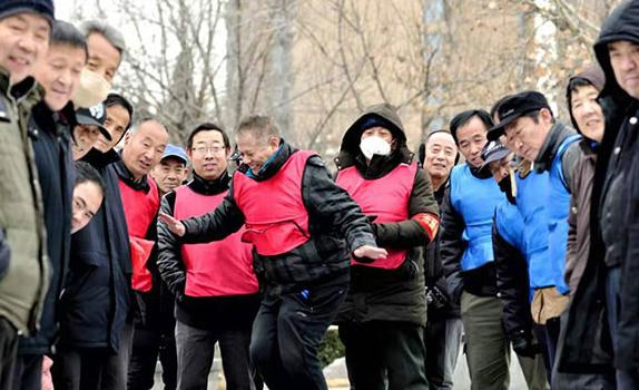 """滏阳河畔同竞技 湖城掀起冰雪热<br>""""冰雪英雄系列活动""""走进衡水"""