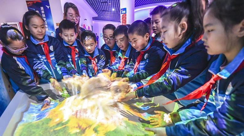 河北阜城:体验科技乐趣 感受科技魅力