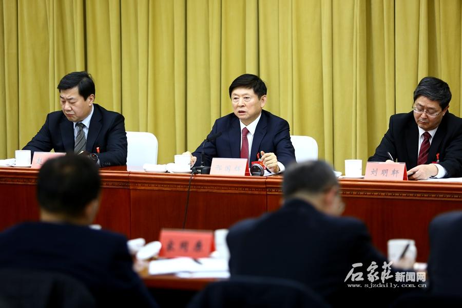 邢国辉参加市政协十三届四次会议经济一组农业一组联组讨论