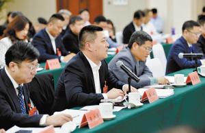 石家庄市领导参加政协会议分组讨论