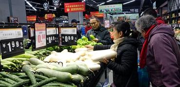 """惠民肉菜""""大礼包""""充实百姓""""菜篮子"""""""