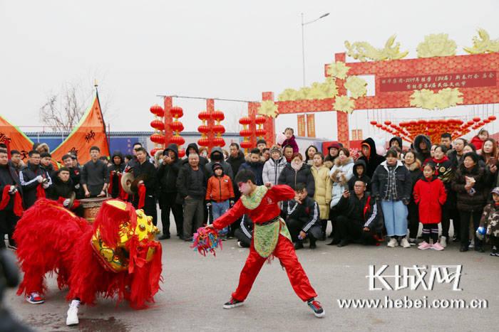霸州:勝芳傳統燈會廟會喜迎新春