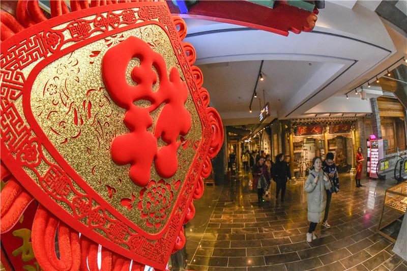 唐山:逛街赶集迎新春
