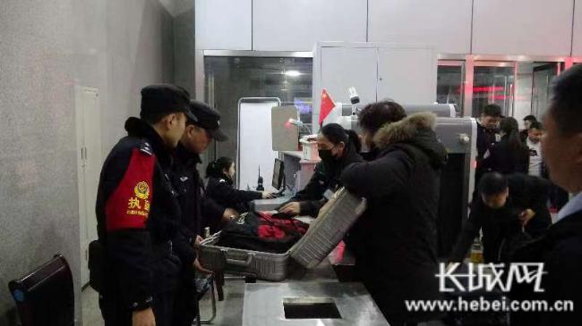 强化站区治安管控 邯郸铁警全力护航2020年春运