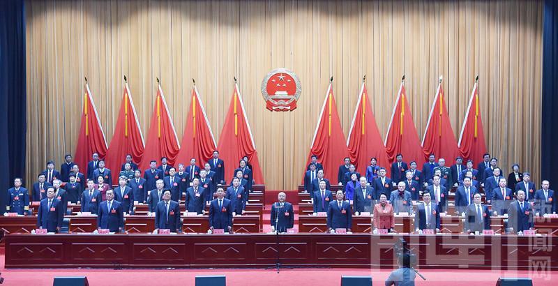 邯郸市十五届人大六次会议胜利闭幕