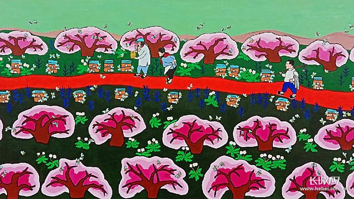 河北辛集农民画:绘出美好新生活