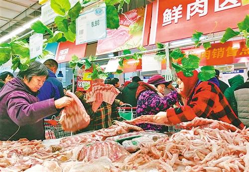 生猪出栏量显著增加 春节保供稳价举措实