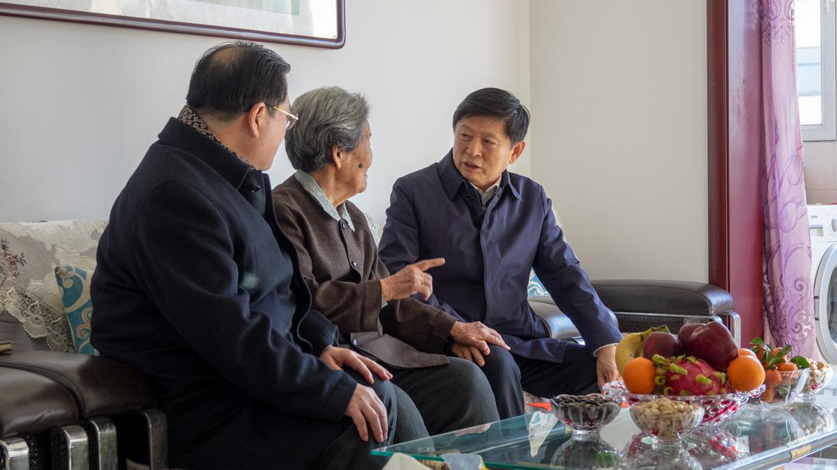 【组图】迎新春 送祝福 省领导深入石家庄基层走访慰问