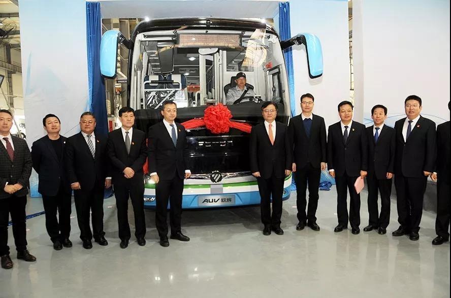 福田汽车张家口氢燃料产业基地在宣化投产