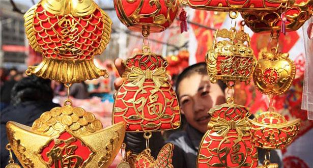 春节看消费:网上下订单 年货送进山