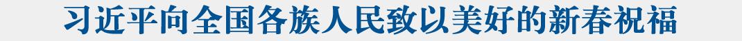 习近平春节前夕赴云南看望慰问各族干部群众 向全国各族人民致以美好的新春祝福