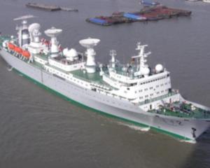 远望号航天测量船队返航