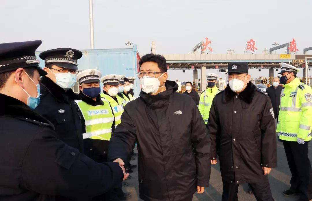 王景武在衡水市区检查肺炎疫情防控工作