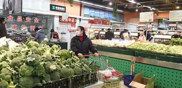 河北石家庄:全力保障市民生活必需品供应