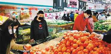 商务部:增加粮油、肉、蛋、蔬菜等市场供应