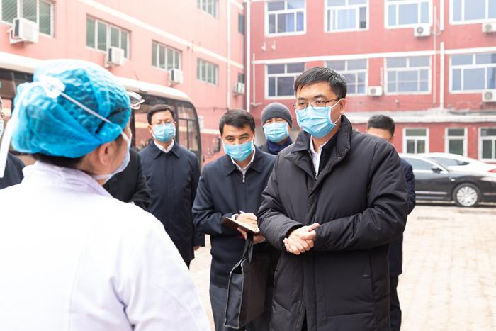 陈刚在安新县调研检查疫情防控工作