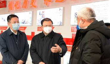 張古江赴豐南區、唐山中心醫院檢查疫情防控工作