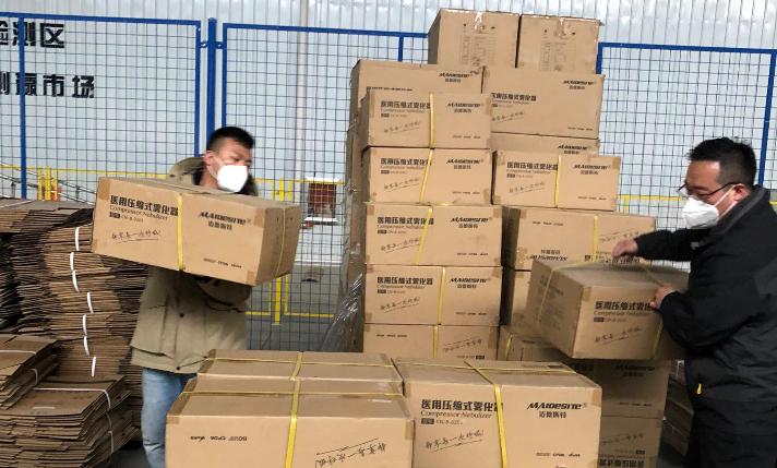 """【衡水战""""疫""""·助力武汉】九号仓公司开通绿色通道 免费承运防控物资"""