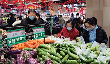 石家莊市蔬果供應充足 價格平穩
