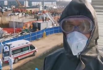 视频来了!首批患者抵达火神山医院
