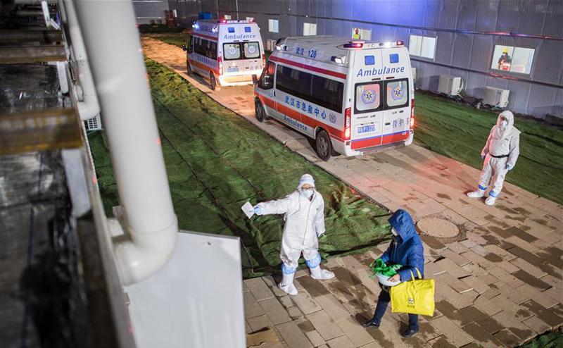 雷神山医院收治首批患者