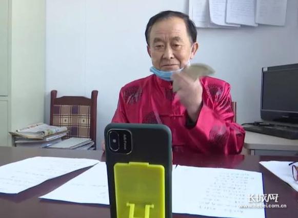 """【邯郸战""""疫""""·暖新闻】广平65岁老党员宋金全:自编快书抗击疫情"""