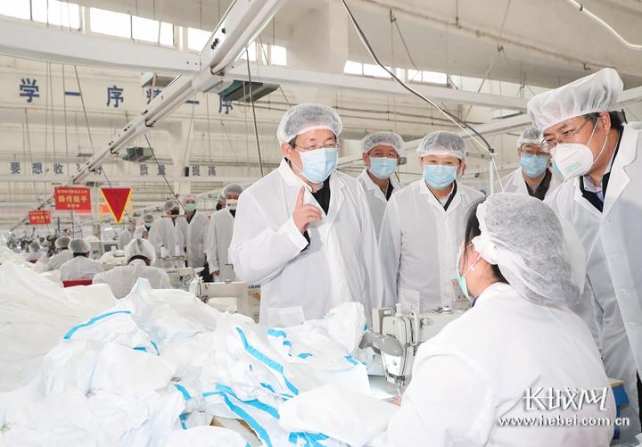 王东峰在石家庄市井陉县新乐市调研检查