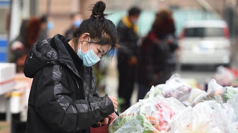 北京:蔬果送上门 解忧保供应