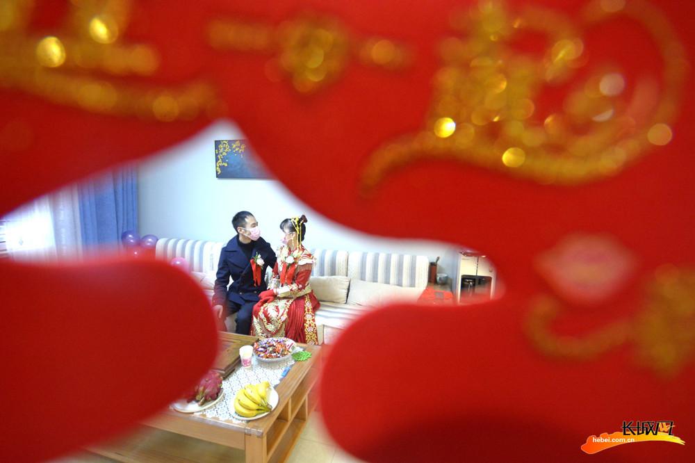 """【邯郸战""""疫""""·一线见闻】邯山区战""""疫""""中时间最短的两人婚礼"""