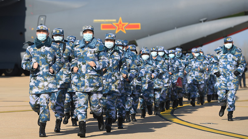 1200人! 又一批军队医护人员驰援武汉