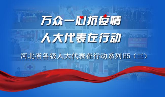 万众一心抗疫情 人大代表在行动——河北省各级人大代表在行动系列H5(三)