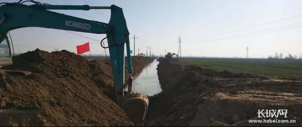 【记者走基层】人勤春来早!邯郸邱县生态水网建设全速推进