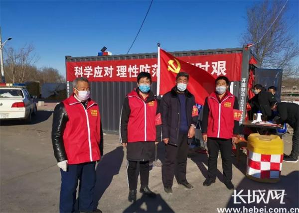"""【沧州战""""疫""""】献县7000多名无职党员在疫情防控中有职有为"""