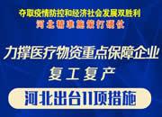 河(he)北力撐醫療物資企業復工(gong)