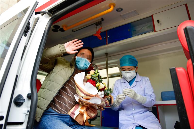 青海2例新冠肺炎患者出院