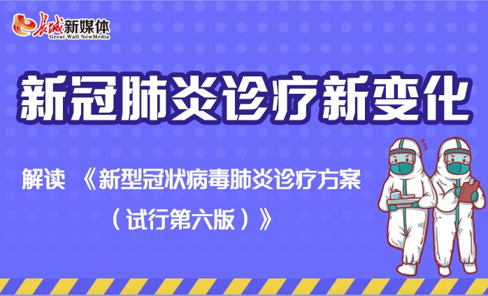 【图解】新冠肺炎诊疗新变化