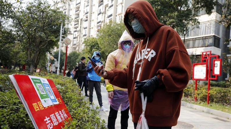 武汉:社区商家齐心保障市民生活必需物资