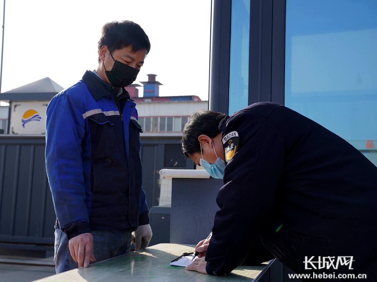 【高清组图】河北巨鹿:防疫复工两不误
