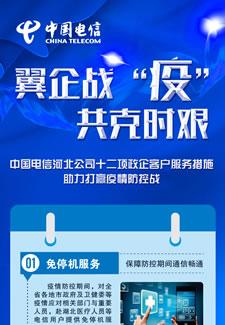 河北电信十二项政企客户服务措施助力打赢疫情防控战