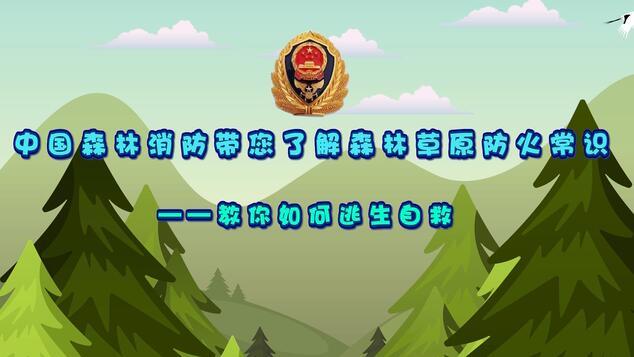 动画| 中国森林消防带您了解森林草原防火常识