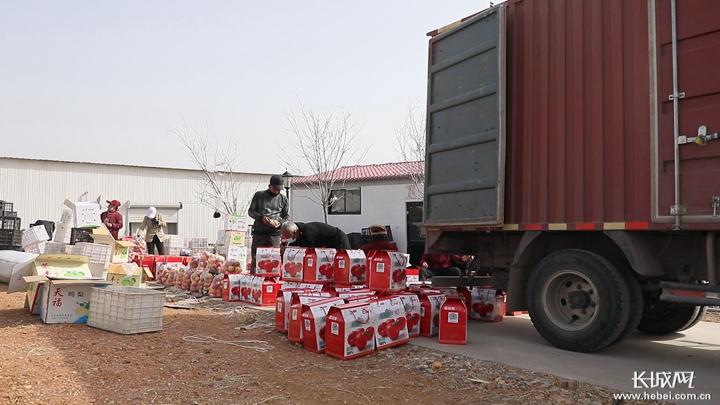 曲阳农产品搭上北京消费扶贫列车