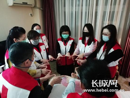 """【廊坊战""""疫""""】廊坊:发挥红十字会人道援助作用"""